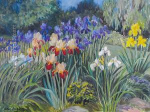 Iris Garden by Wini Smart